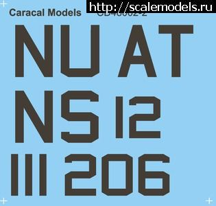 Декаль 1/48 US Navy S-2E Trackers от Caracal Models  Закрыть окно