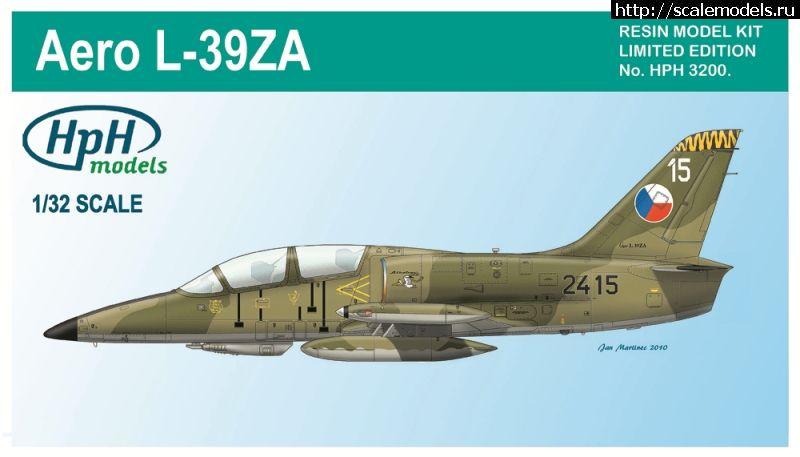 Новинки от HpH models: 1/32 L-39 Albatros, 1/32 Zlin Z-50, 1/48 L-200 Morava Закрыть окно