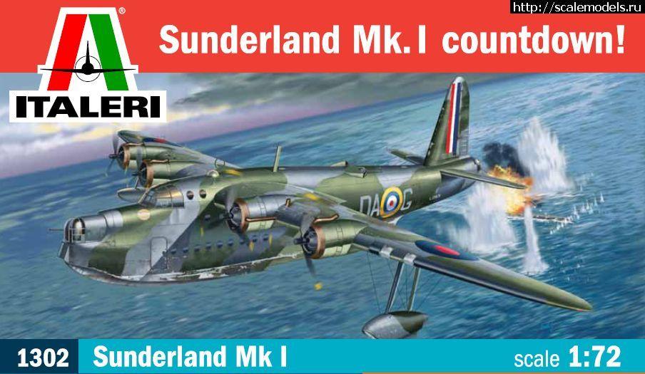 Новинка Italeri: 1/72 Short Sunderland Закрыть окно