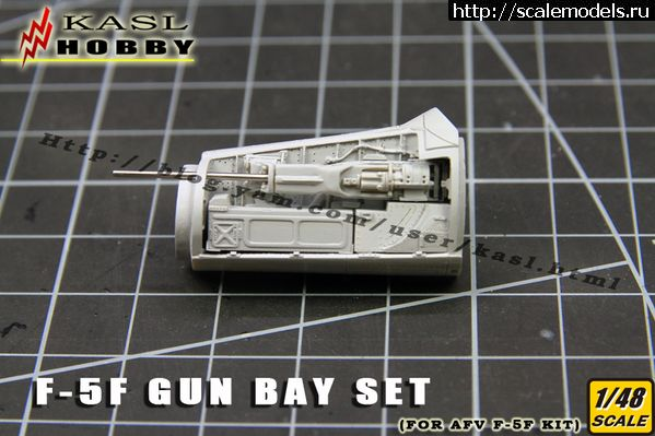 Новинка KASL Hobby: 1/48 F-5F Tiger Gun Bay Set  Закрыть окно