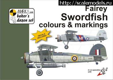 Новинка 4+ publication: Fairey Swordfish colours and markings Закрыть окно