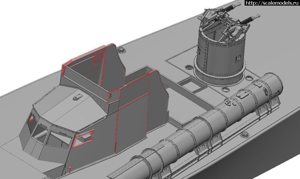 Новинка Italeri: 1/35 British Royal Navy Vosper Закрыть окно