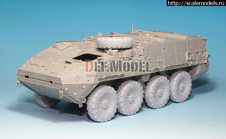 Новинка DEF Model: 1/35 Stryker/LAV-III Sagged Wheel set (for AFV Club/Trumpeter) Закрыть окно