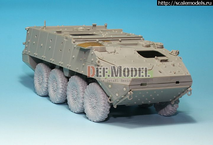 Новинка DEF Model: 1/35 Stryker/LAV-III Sagged Wheel set (for AFV Club/Trumpeter) Закрыть окно