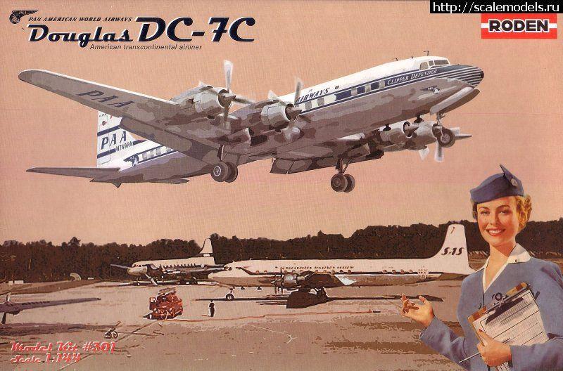 Roden 1/144 Douglas DC-7C Pan American World Airways Закрыть окно