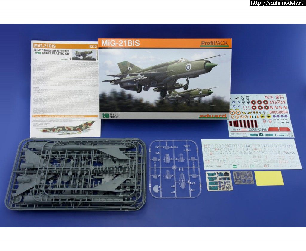 Новинка Eduard: 1/48 МиГ-21бис Закрыть окно