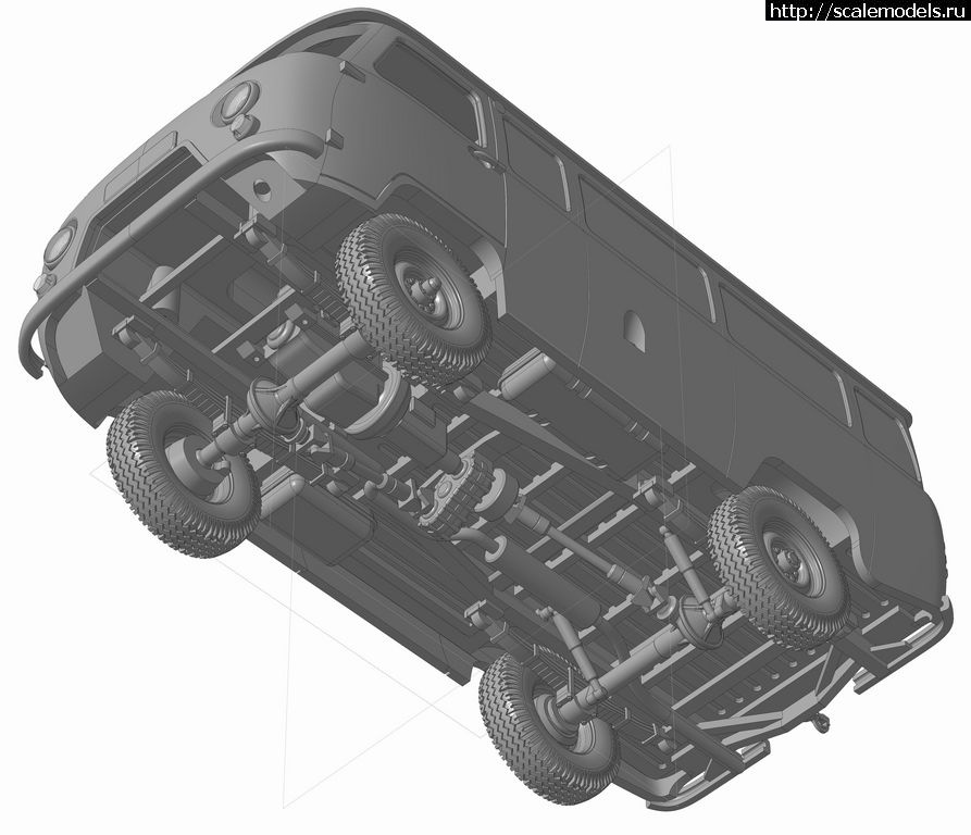 Новинка Northstarmodels 1/48 УАЗ-452 Закрыть окно