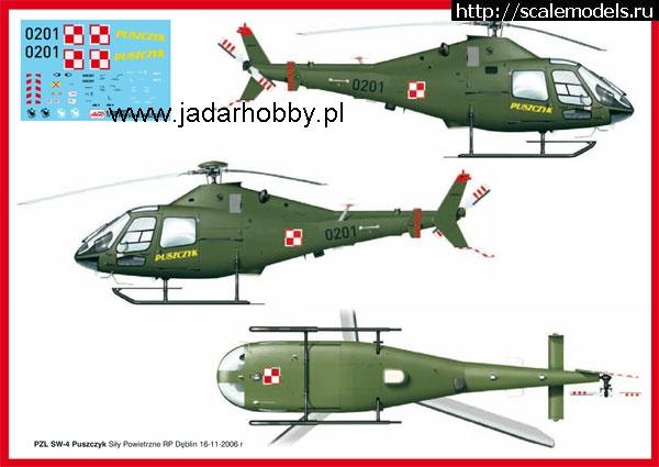 Новинка Aeroplast: 1/48 PZL SW-4 Закрыть окно