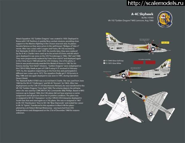 Новинка AMS/Zotz: 1/32 A-4C Conversion set  Закрыть окно