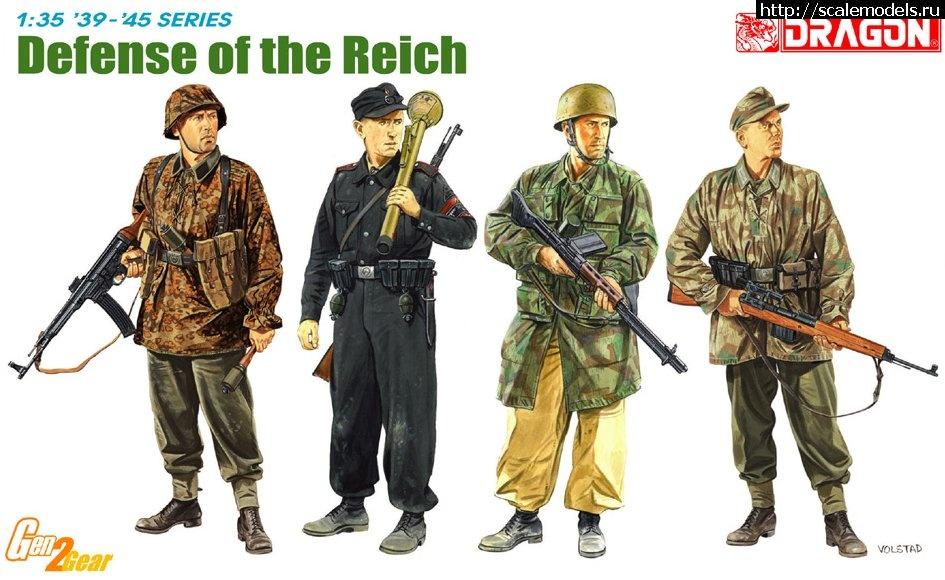 Новинка Dragon: 1/35 Defense of the Reich  Закрыть окно