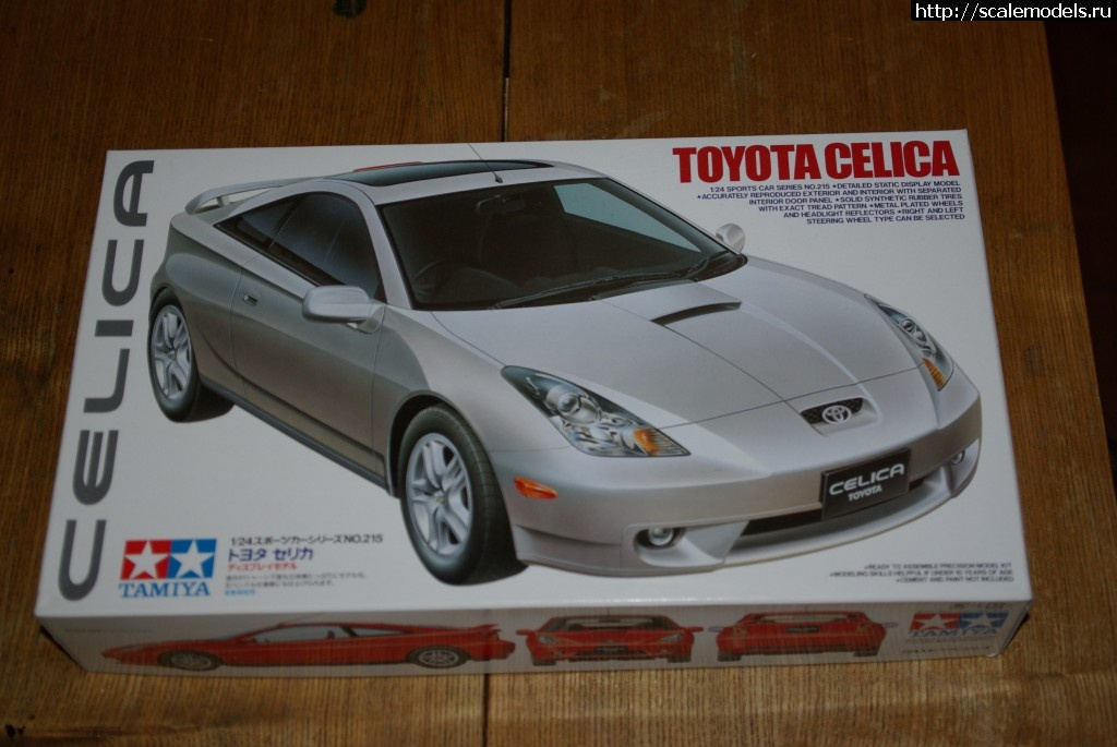 Toyota Celica 1:24 Tamiya (Mixanoid/Bogdan) Закрыть окно