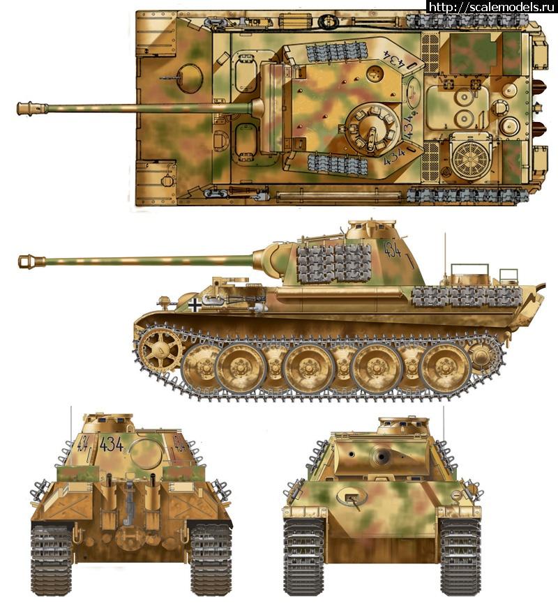 Новинка Italeri: 1/35 Pz.Kpfw.V Panther Ausf. G Закрыть окно