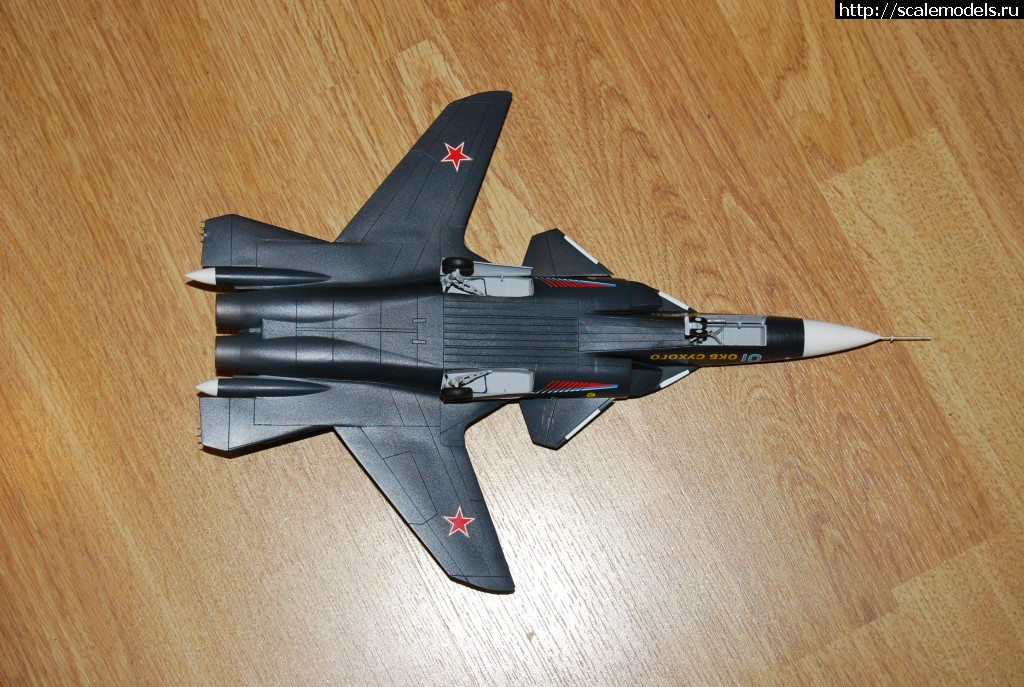 """#674163/ Су-47 """"Звезда"""" 1/72 (Sergio105/Большой_Phantome) Закрыть окно"""