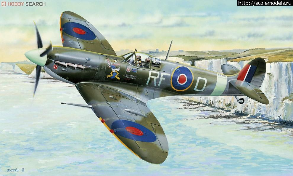 Spitfire Mk.Vb (Hobby Boss) - Вячеслав Демченко - ГОТОВО Закрыть окно