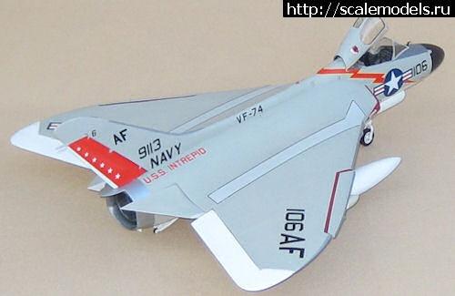 Новинка Fisher Model: 1/32 Douglas F4D-1 Skyray Закрыть окно