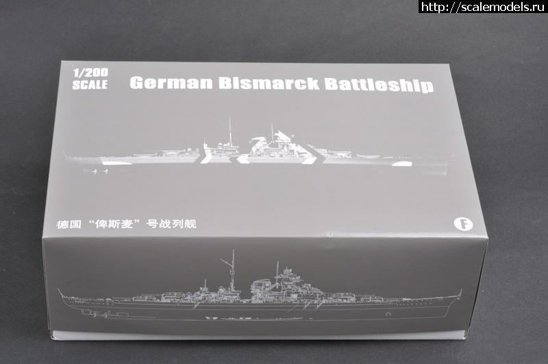 Новинка Trumpeter: 1/200 Линкор Bismarck Закрыть окно