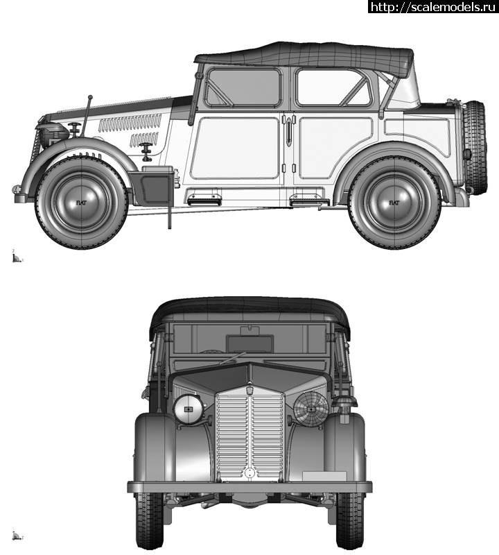 Анонс от Italeri: 1/35 FIAT 508 COLONIALE Закрыть окно