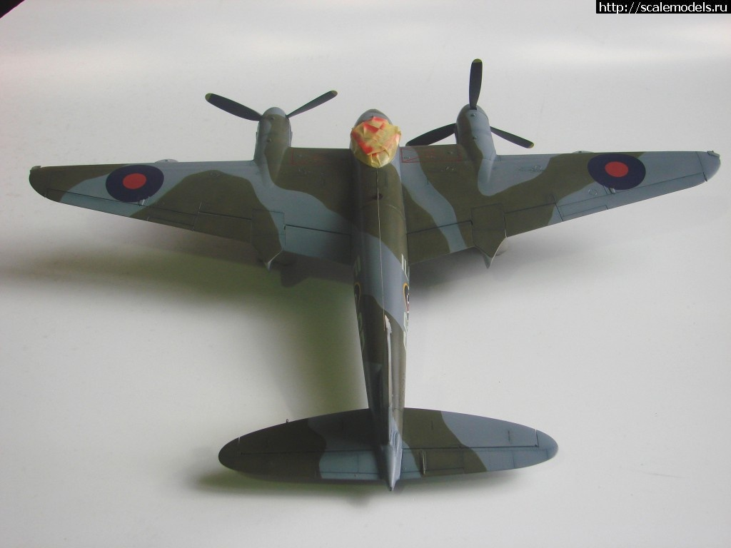 #755279/ Tamiya 1/48 DH Mosquito Mk IX - ГОТОВО! Закрыть окно