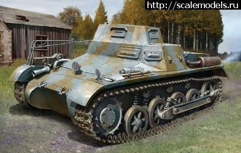 Новинка Dragon: 1/35 Leichte (Funk) Pz.Kpfw.I Ausf.A Закрыть окно