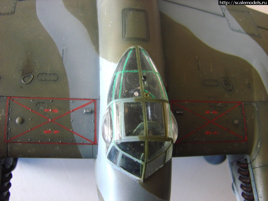 #758058/ Tamiya 1/48 DH Mosquito Mk IX - ГОТОВО! Закрыть окно