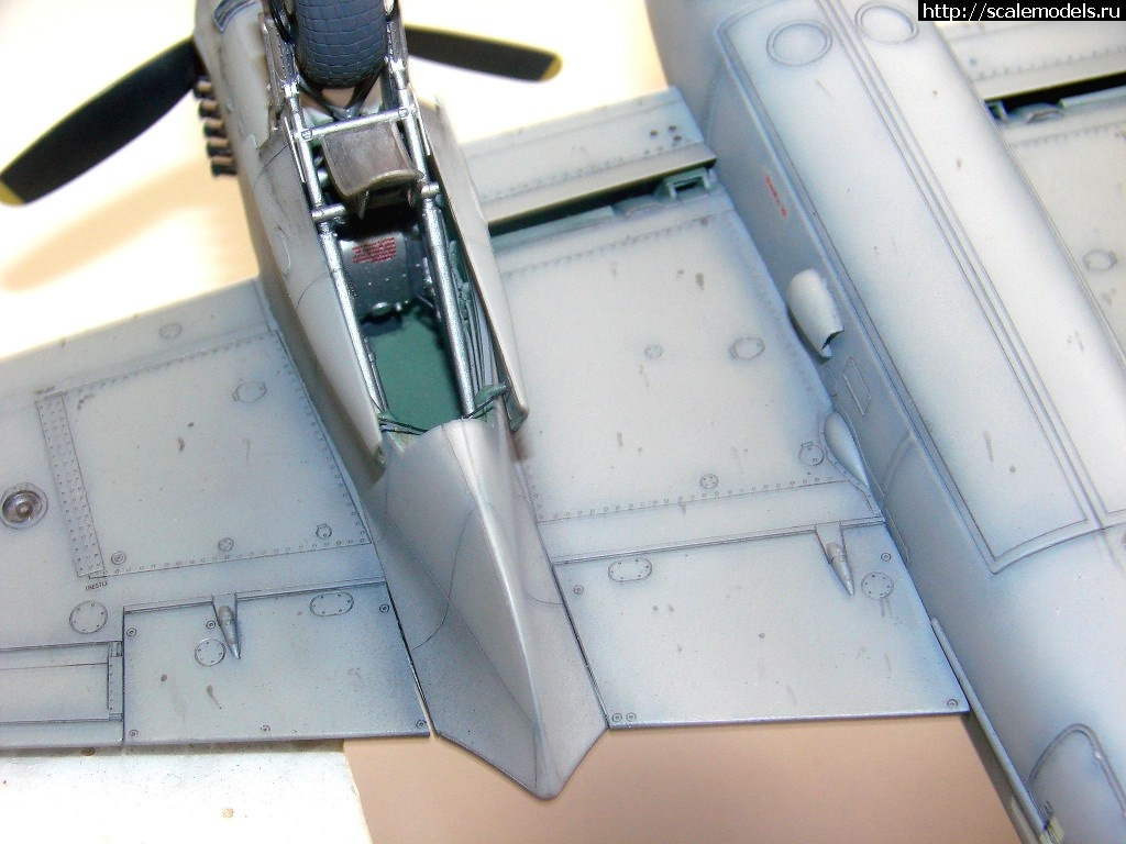 #758216/ Tamiya 1/48 DH Mosquito Mk IX - ГОТОВО! Закрыть окно