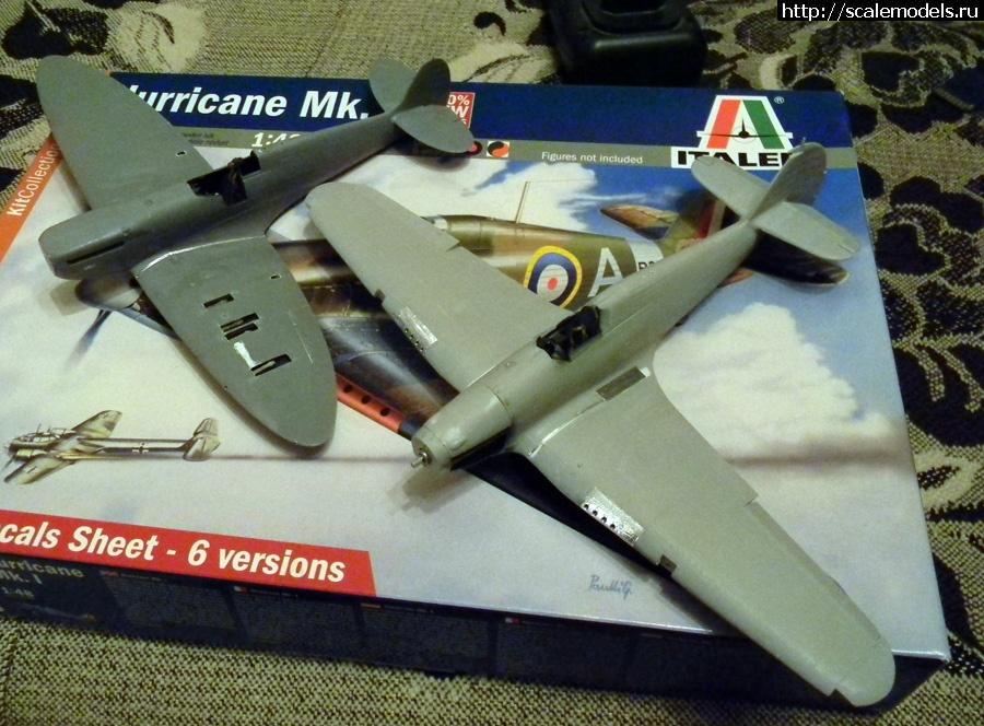 Spitfire Mk.1 1/48 Tamiya ГОТОВО Закрыть окно