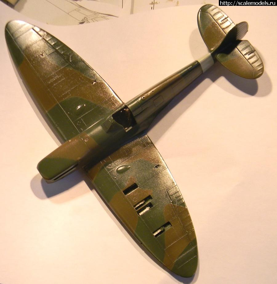 #765343/ Spitfire Mk.1 1/48 Tamiya ГОТОВО Закрыть окно