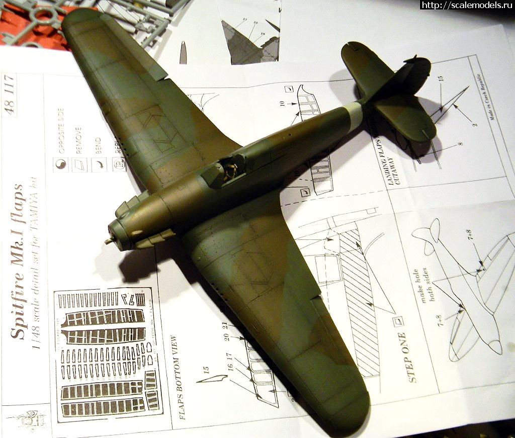 #765375/ Spitfire Mk.1 1/48 Tamiya ГОТОВО Закрыть окно