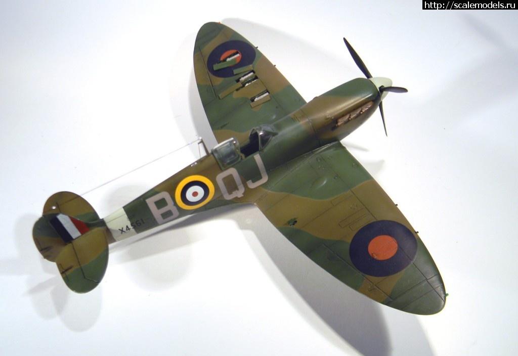 #766181/ Spitfire Mk.1 1/48 Tamiya ГОТОВО Закрыть окно
