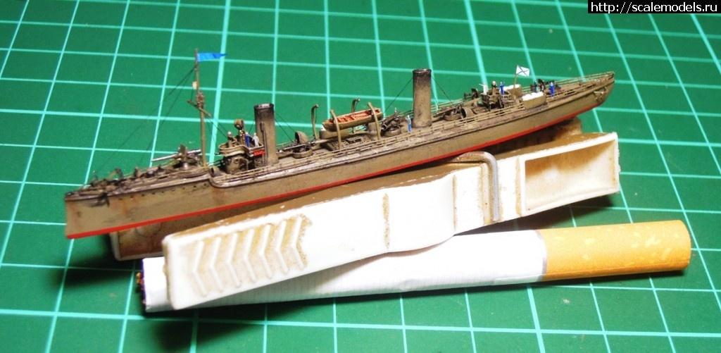 канонерская лодка храбрый