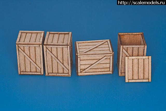 RB Model: 1/35 Деревянные ящики и германские смоляные бочки Закрыть окно