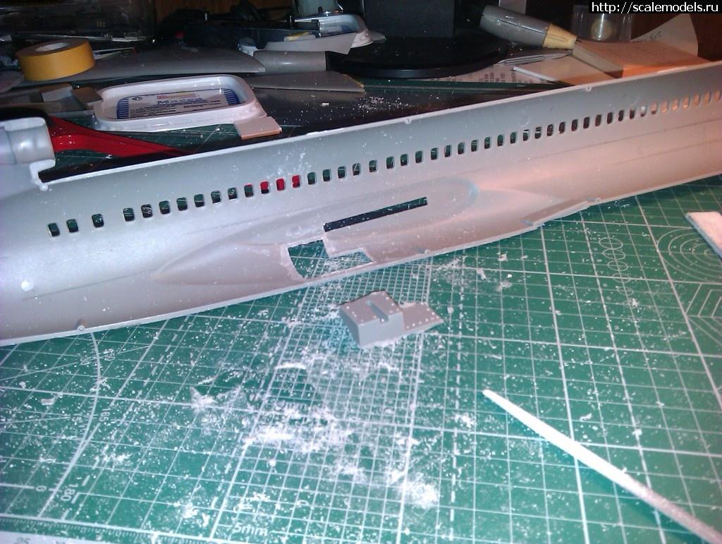 #849166/ Задел: Boeing 727-200 KMC Models 1/72 Закрыть окно