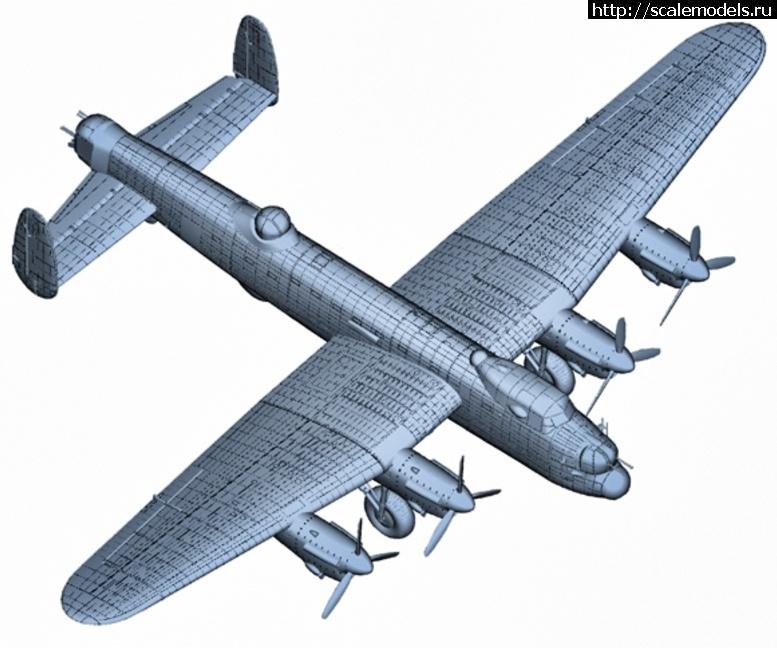 Анонс Hong Kong Models 1/32 Avro Lancaster Закрыть окно