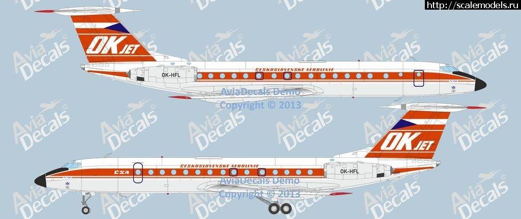 Декаль AviaDecals Ту-134 в Европе. Закрыть окно