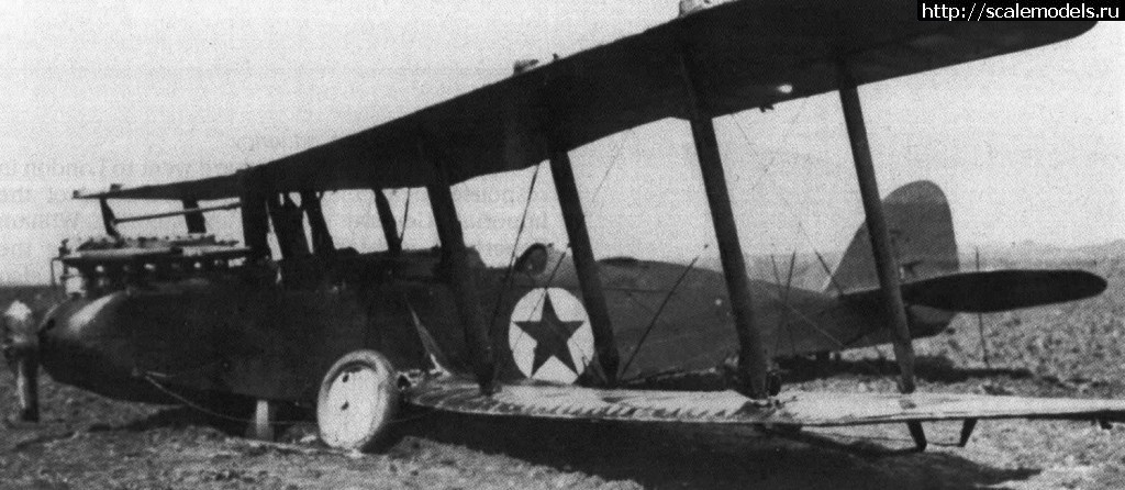 КРАСНЫЕ - Airco DH.9 РККВФ 1:48 Roden - ГОТОВО Закрыть окно