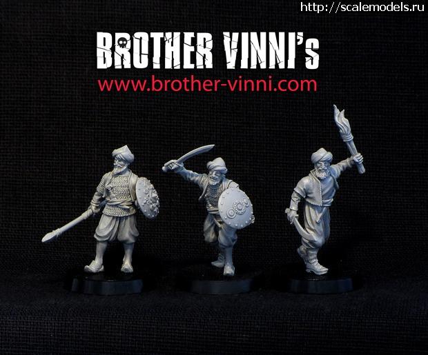 Новинка Brother Vinni - арабы 28 мм Закрыть окно