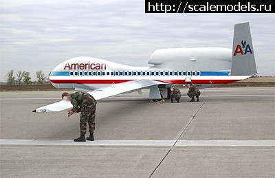 #897966/ Drone RQ-4 Global Hawk (Italeri 1/72) Закрыть окно