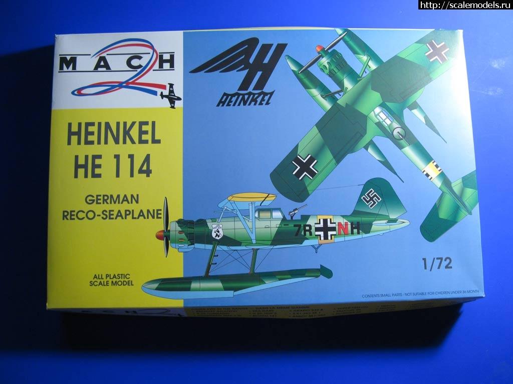 Heinkel He 114A  Mach2 1:72 - Выстругаем буратина!!!  ГОТОВО Закрыть окно