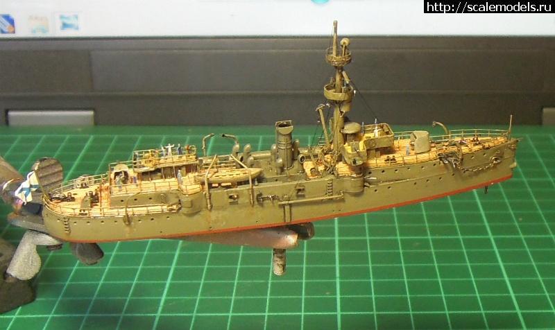 канонерская лодка гиляк модель