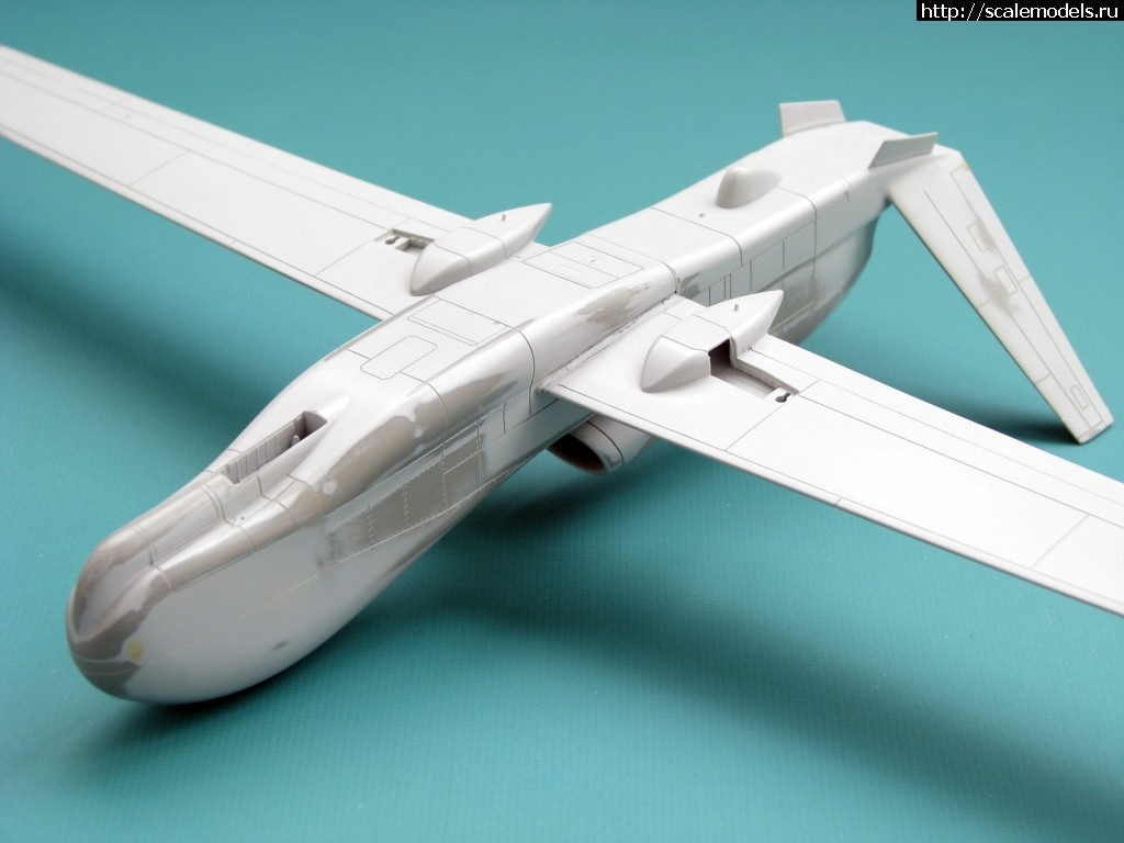 #910447/ Drone RQ-4 Global Hawk (Italeri 1/72) Закрыть окно