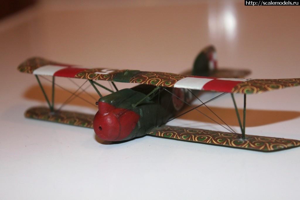 #911665/ БЕЛЫЕ - Polish Albatros DIII - 1/72 ГОТОВО Закрыть окно