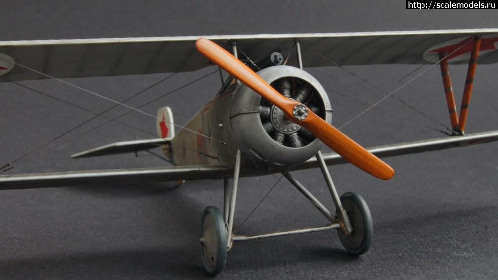#933220/ КРАСНЫЕ - 1/48 Nieuport-17 - ГОТОВО! Закрыть окно