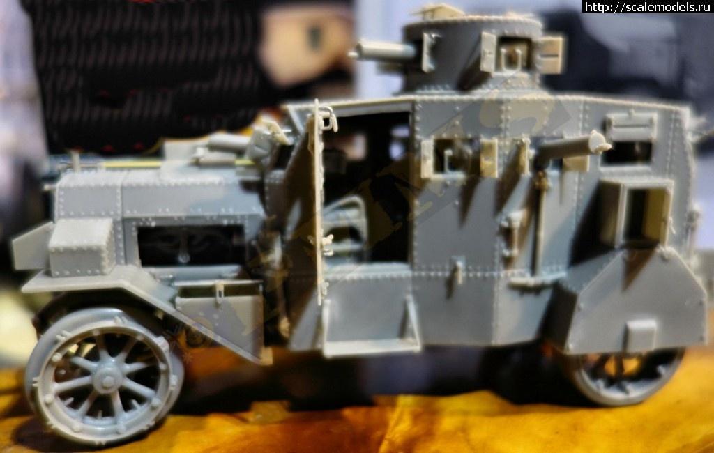 Анонс White storm models 1/35 броневик Ehrhardt M 1917 Закрыть окно