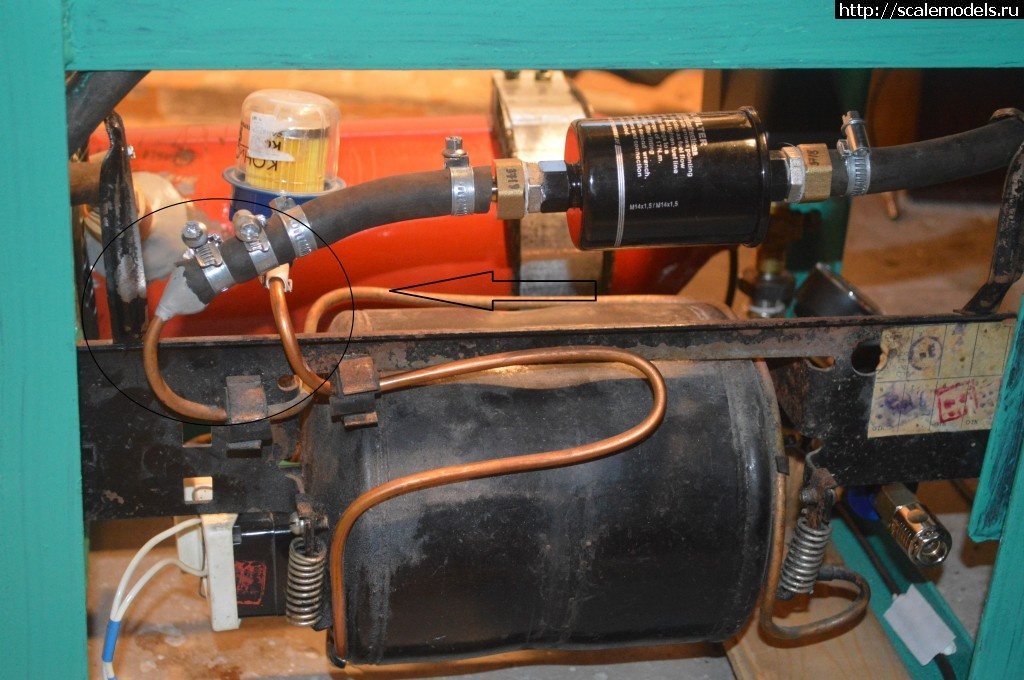 Из чего и как сделать компрессор 681
