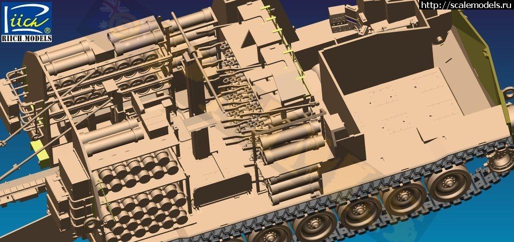 Анонс Riich.Models 1/35 M992 транспортер боеприпасов Закрыть окно