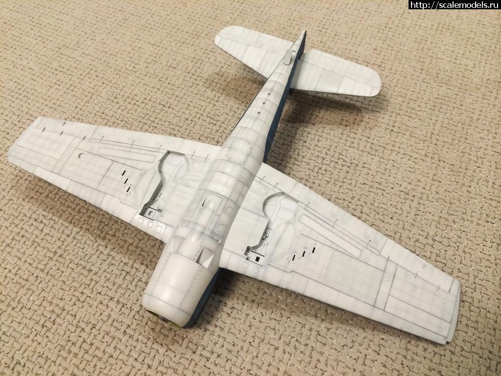 #1034035/ F6F-3 Hellcat 1/48 EDUARD ГОТОВО! Закрыть окно