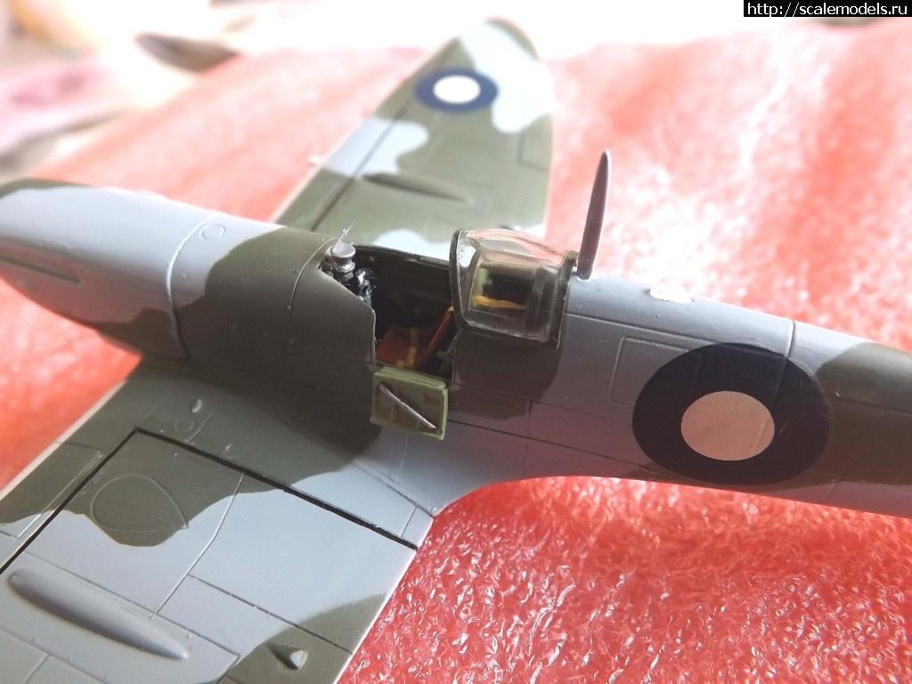 #1050216/ Тихокеанская акула Spit Mk VIII -1/72 Italeri (поддержка)! Закрыть окно