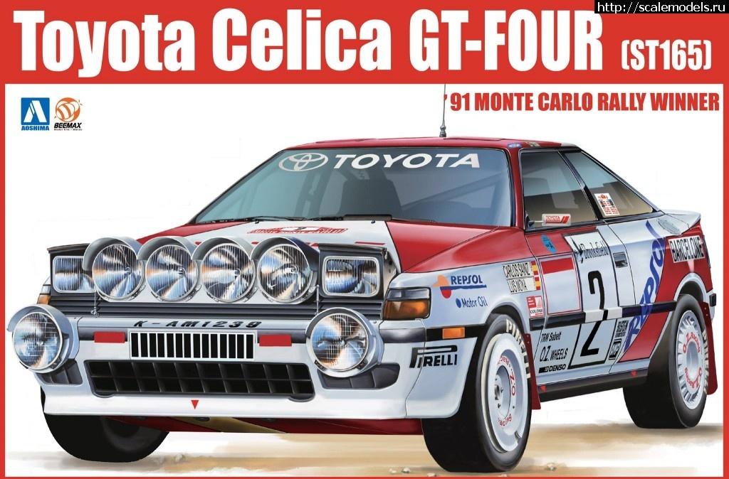 Aaoshima 1/24 CELICA ST165 - Monte Carlo Winner Закрыть окно
