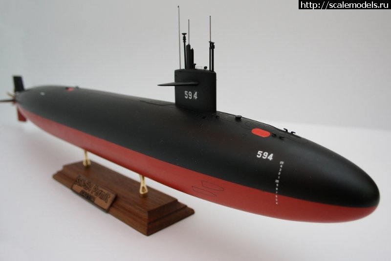 Анонс Modelsvit 1/144 USS Permit-class submarine Закрыть окно