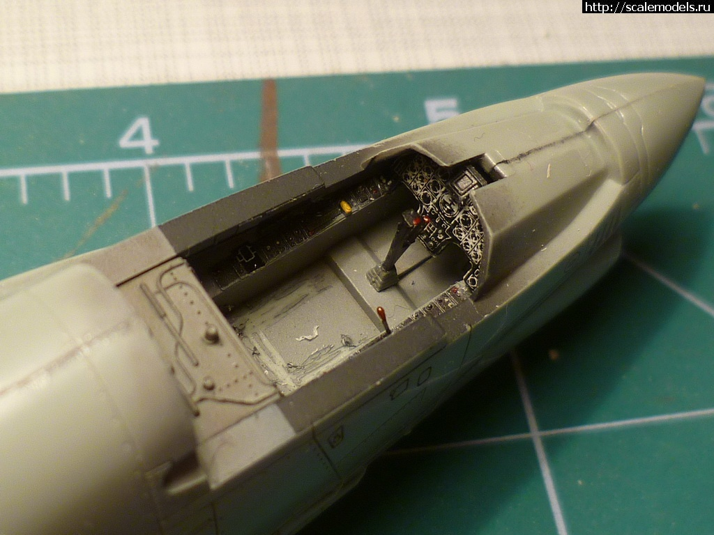 1/72 Academy F-8E Crusader ГОТОВО!!! Закрыть окно